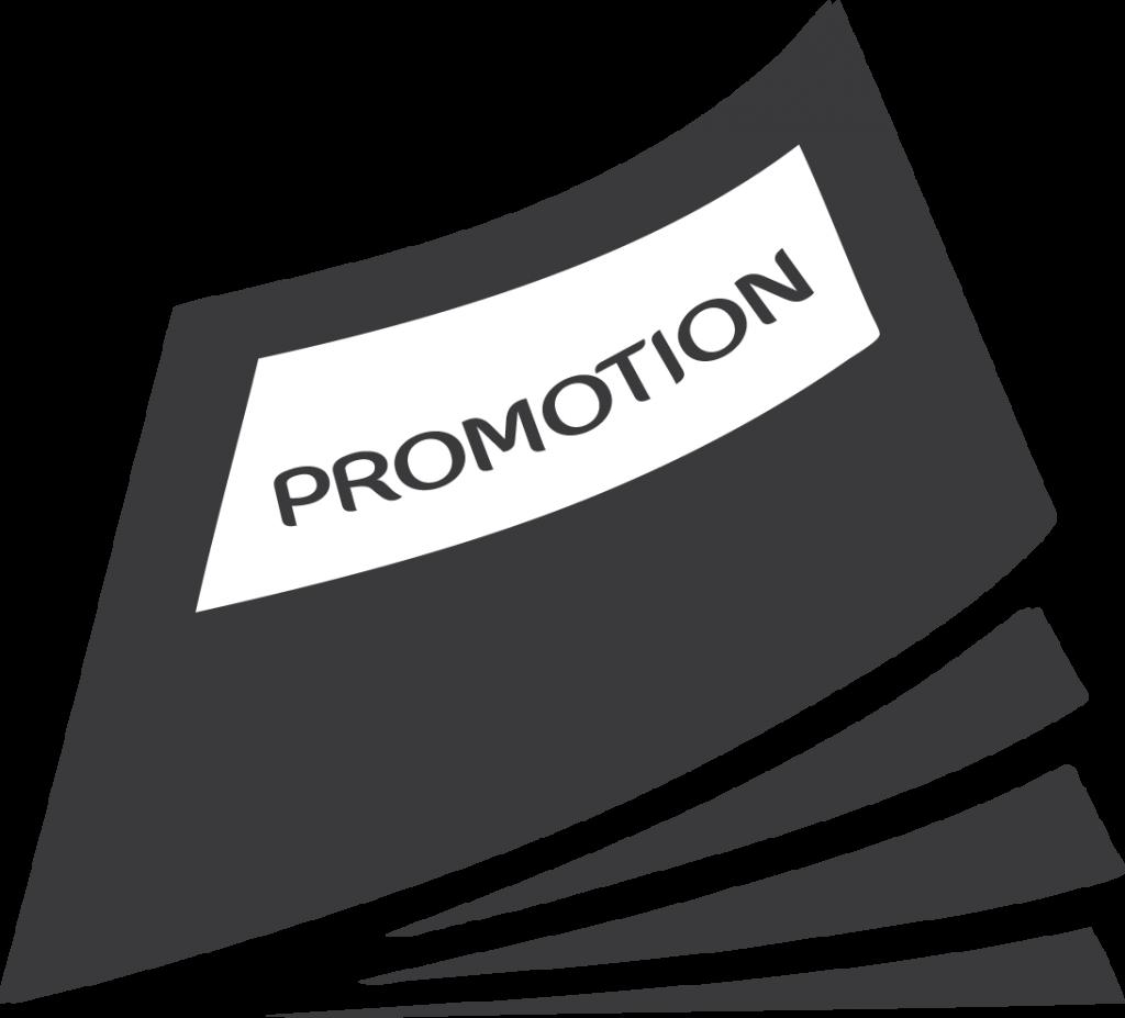 Promo Book Symbol