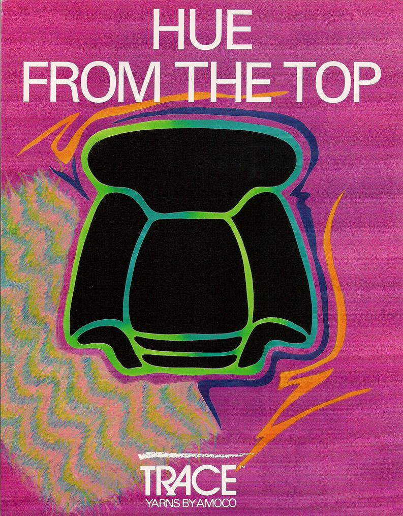 postcard for Amoco Fabrics and fibers