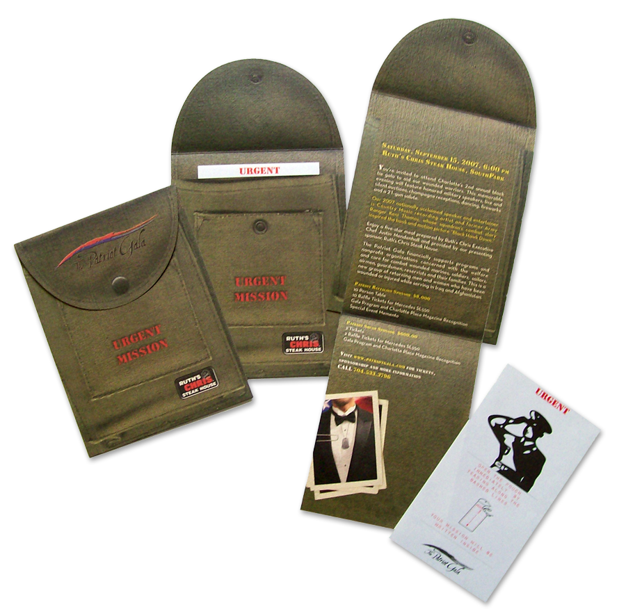 Patriot Charities Direct Mail Invitation